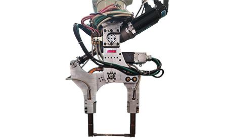 新型轻量机器人焊钳