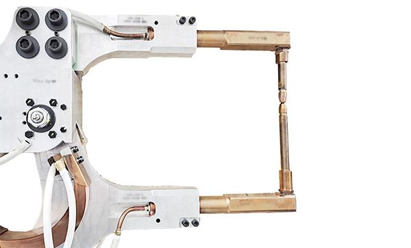X型机器人焊钳